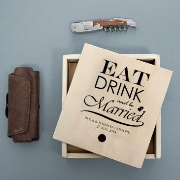 Waiter's Friend Wine Set - Eat Drink and Be Married